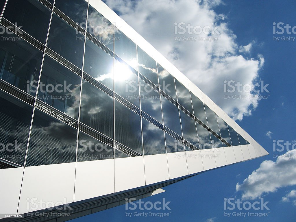 modern architecture, hamburg royalty-free stock photo