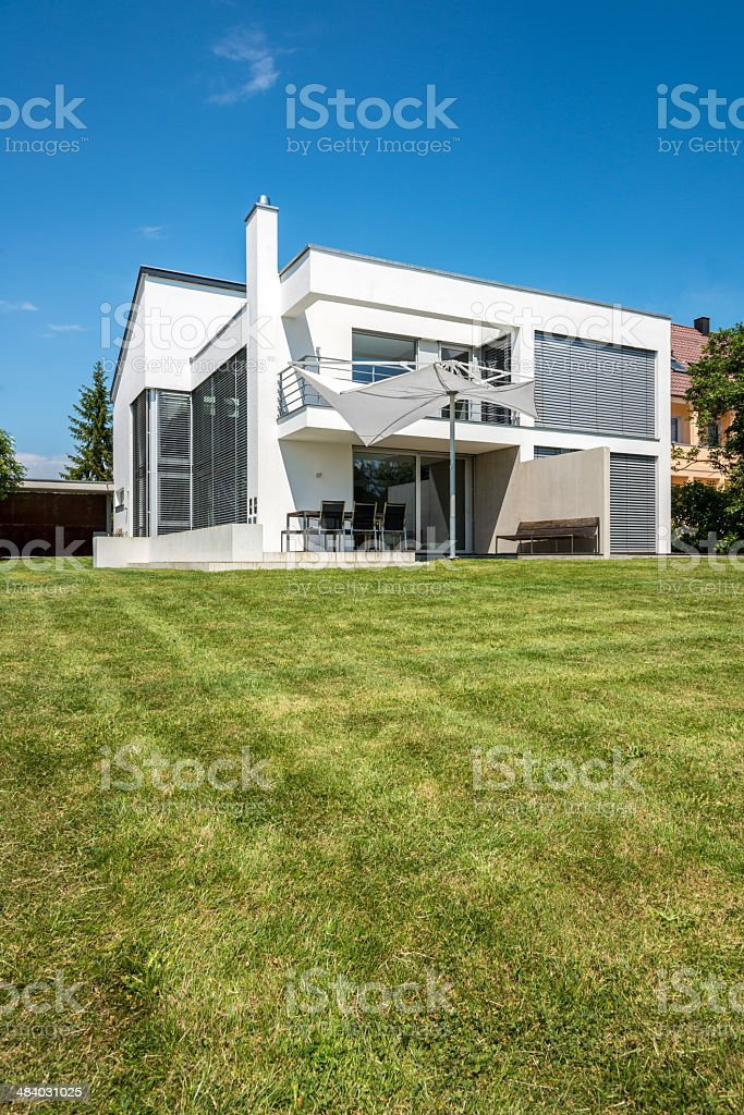 Modern Architecture Home royalty-free stock photo