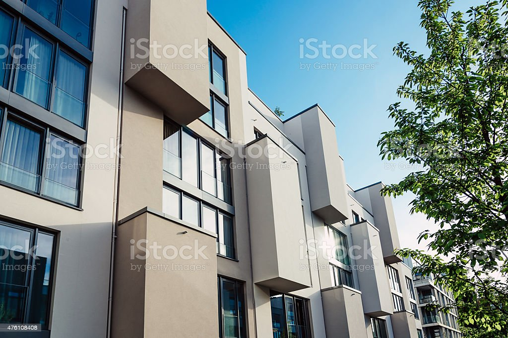 modern architecture in berlin stock photo