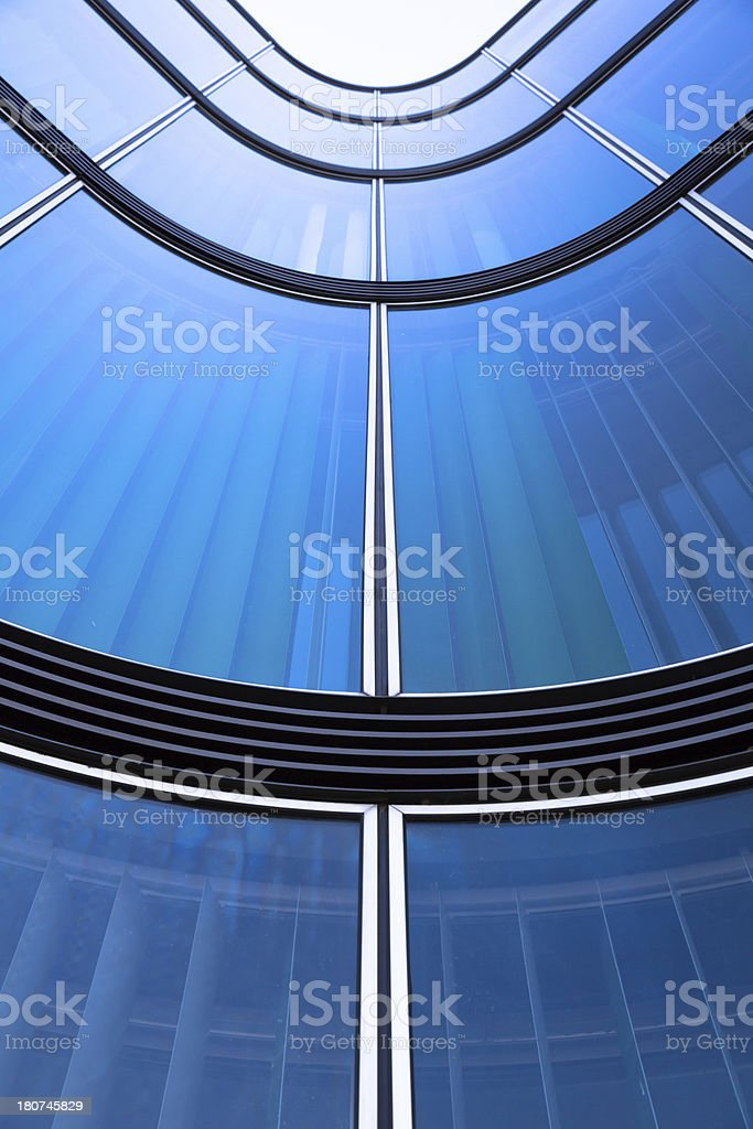 Modern architecture in detail stock photo