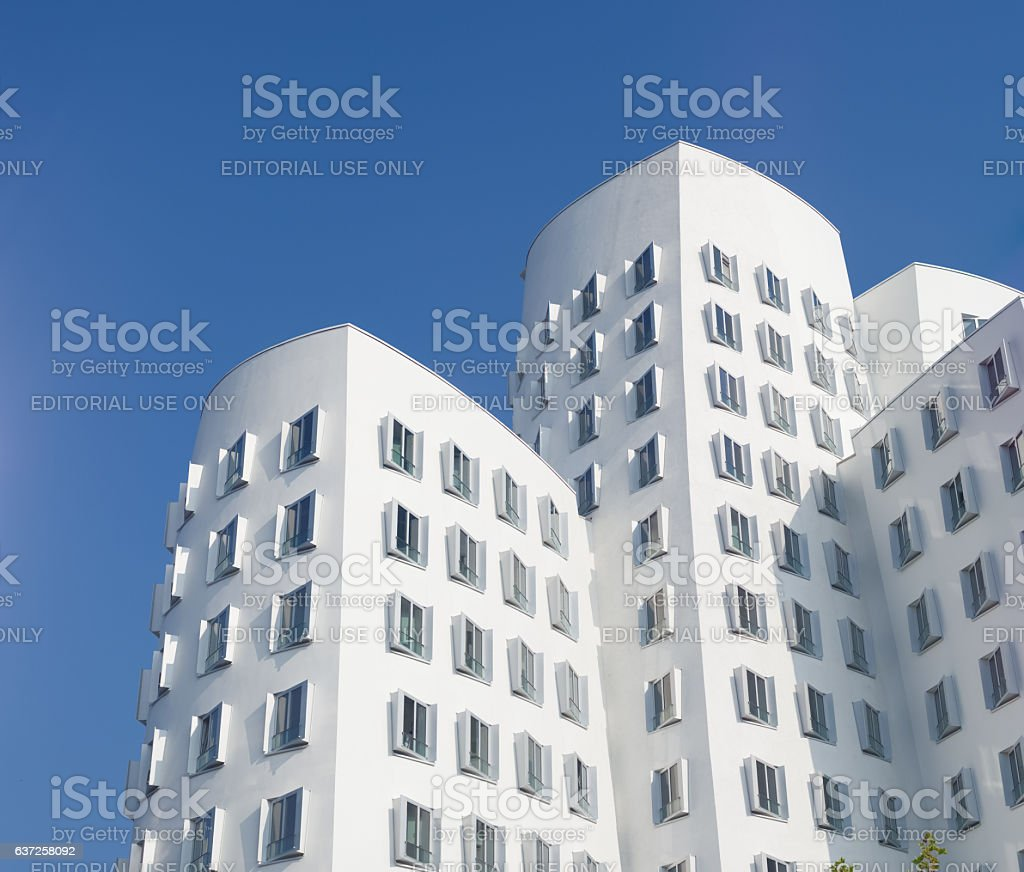 modern architecture in germany stock photo