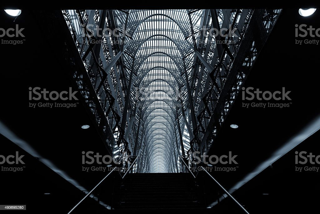 Modern architecture in Toronto stock photo