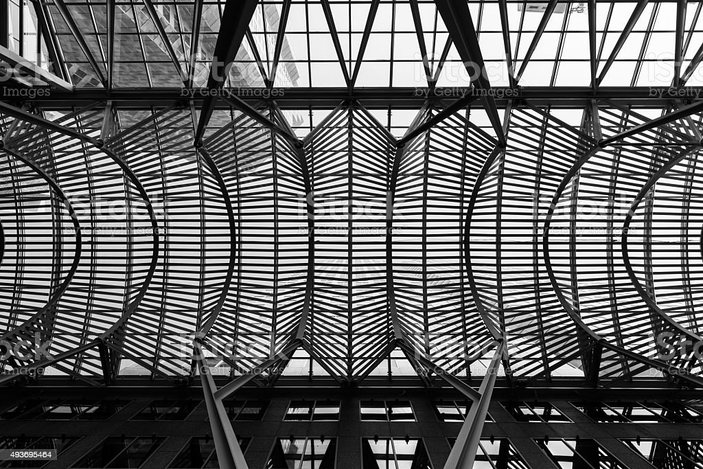 Modern architecture in Toronto stock photo