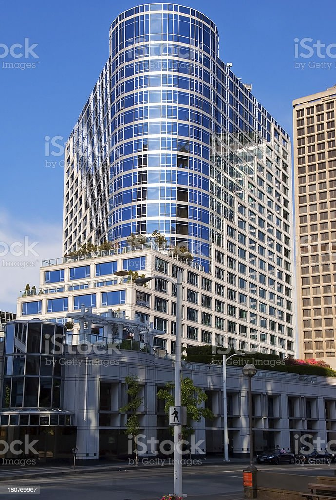 Modern Architecture in Vancouver royalty-free stock photo
