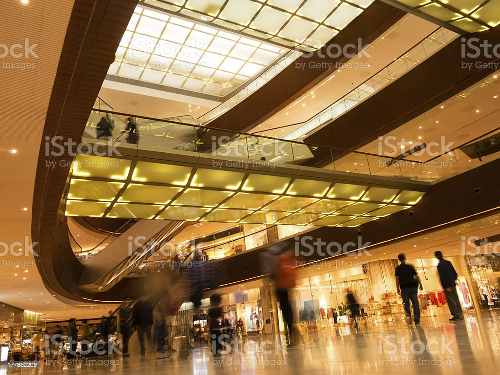 Modern architecture interior royalty-free stock photo