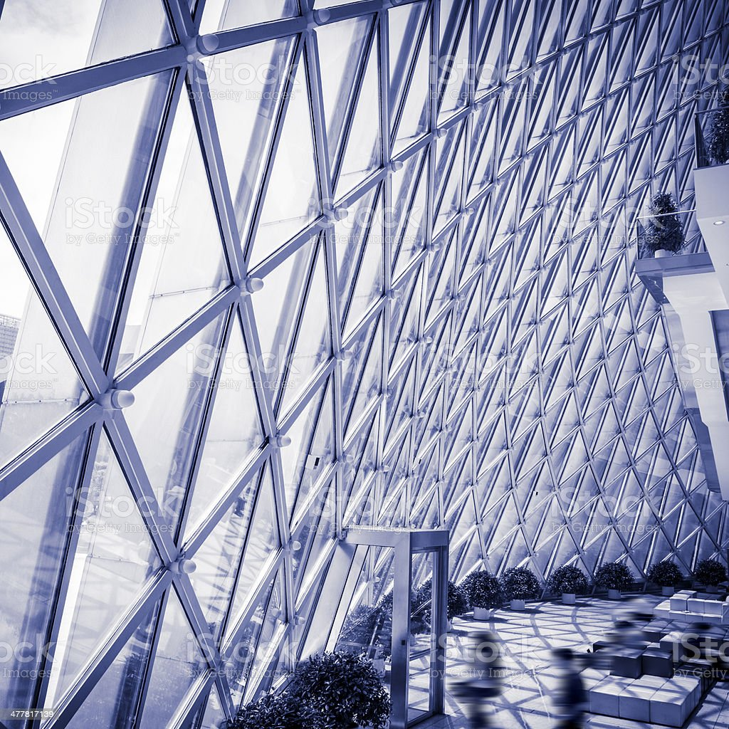 Modern architecture, library royalty-free stock photo