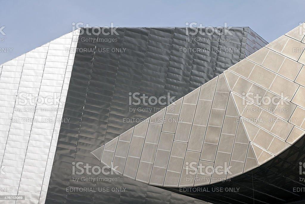 Modern Architecture Manchester stock photo