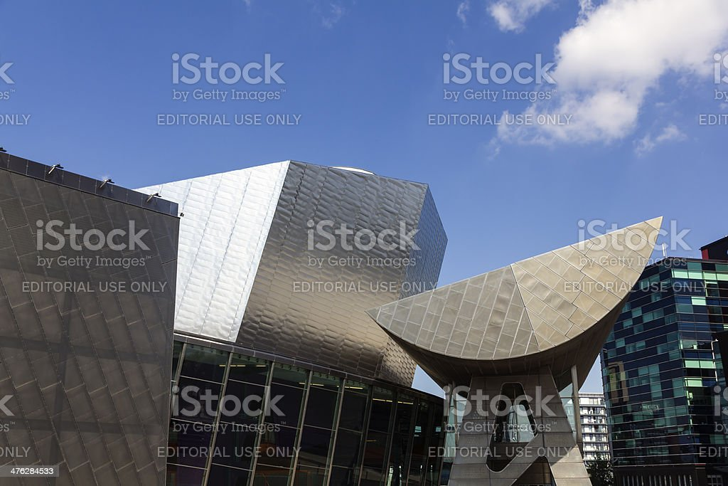 Modern Architecture, Manchester royalty-free stock photo