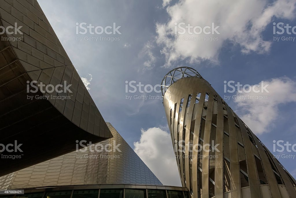 Modern Architecture Manchester stock photo