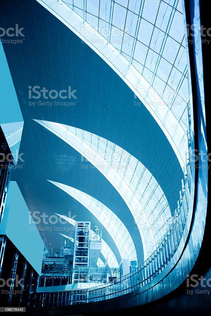 Modern Architecture of Building stock photo
