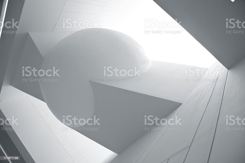 modern architecture. royalty-free stock photo