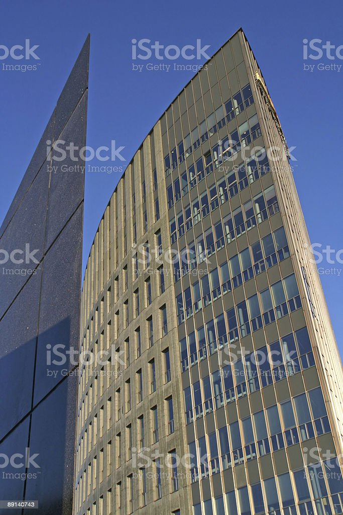 Modern architecture stock photo