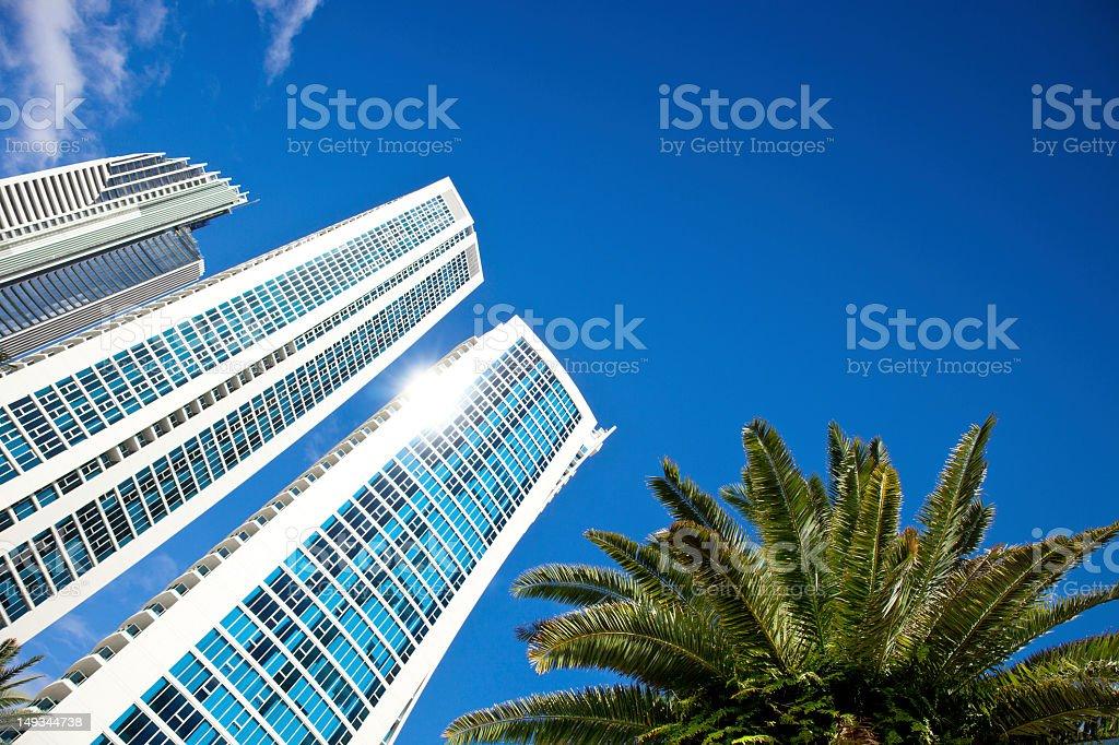 Modern architecture skyscraper stock photo