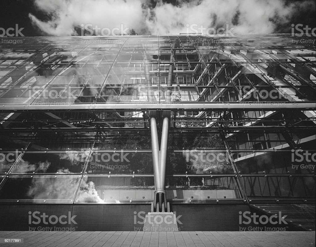 modern architecture, structure 2 royalty-free stock photo