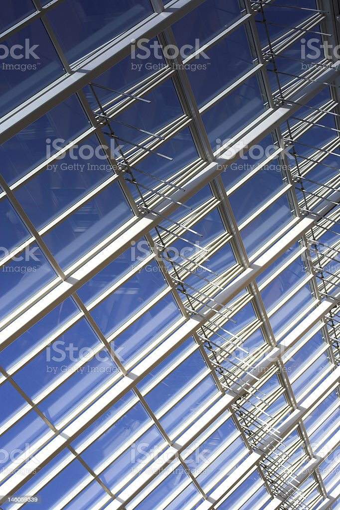 Modern archtecture royalty-free stock photo