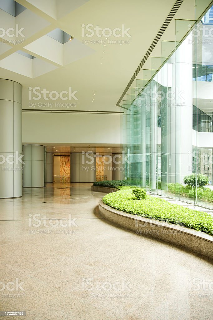 Modern Asian Architecture royalty-free stock photo
