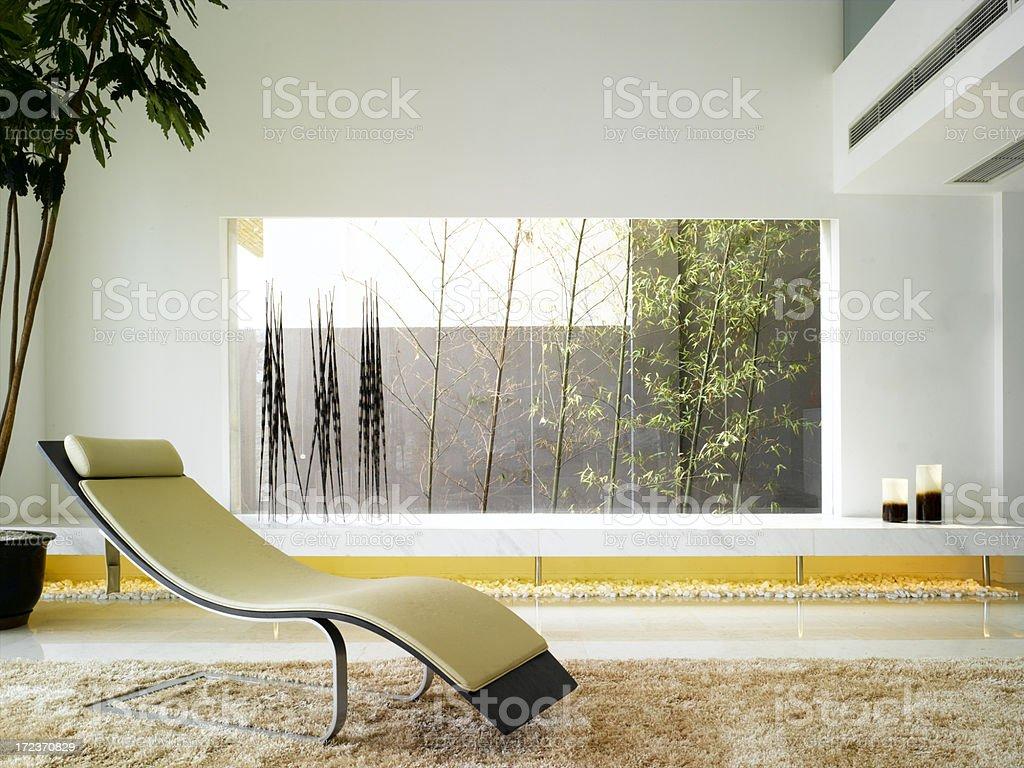 Modern Asian Interior royalty-free stock photo