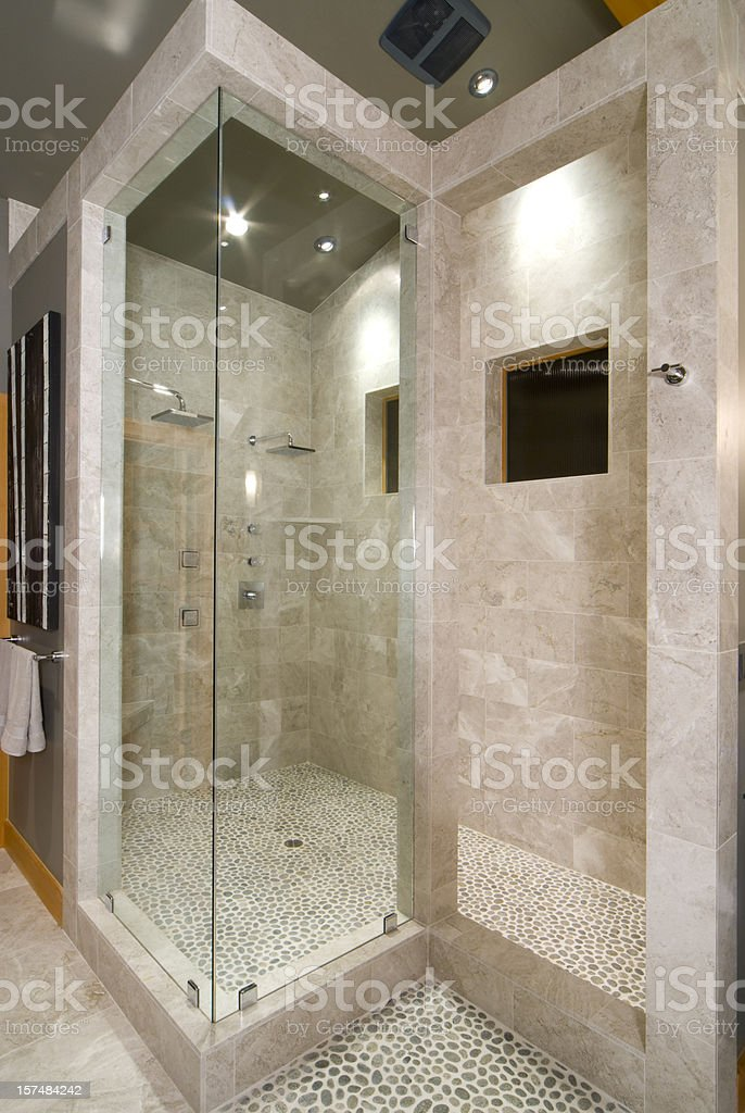 Modern Asian shower royalty-free stock photo