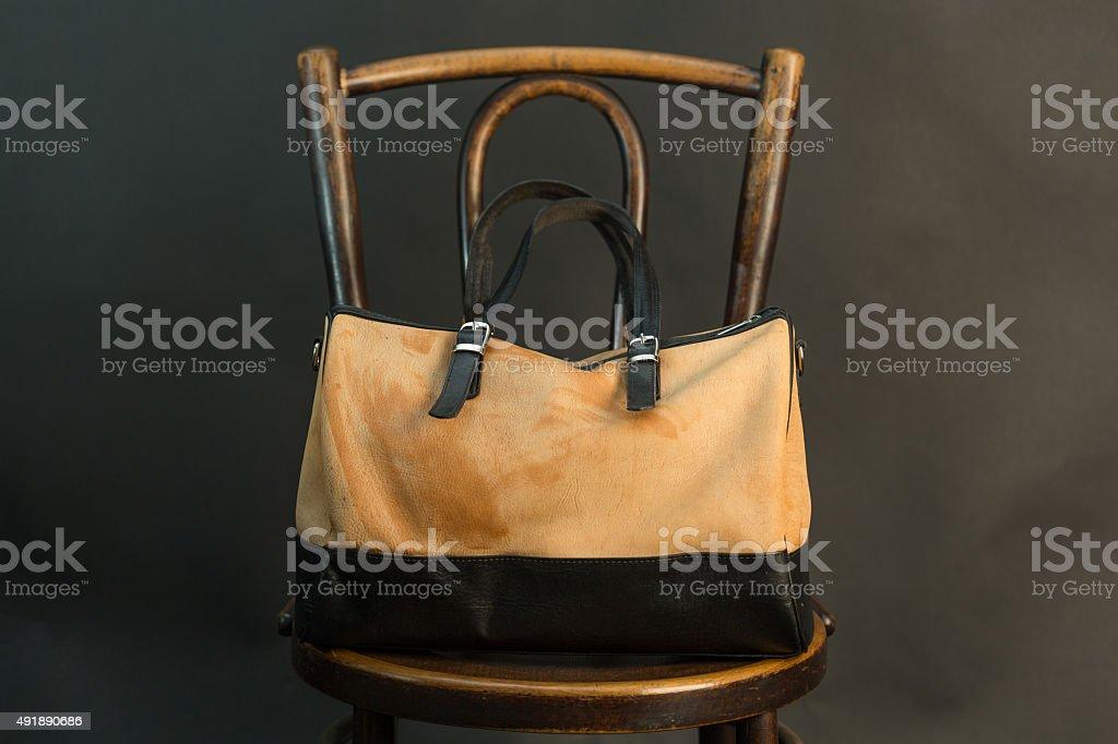 Modern bag stock photo