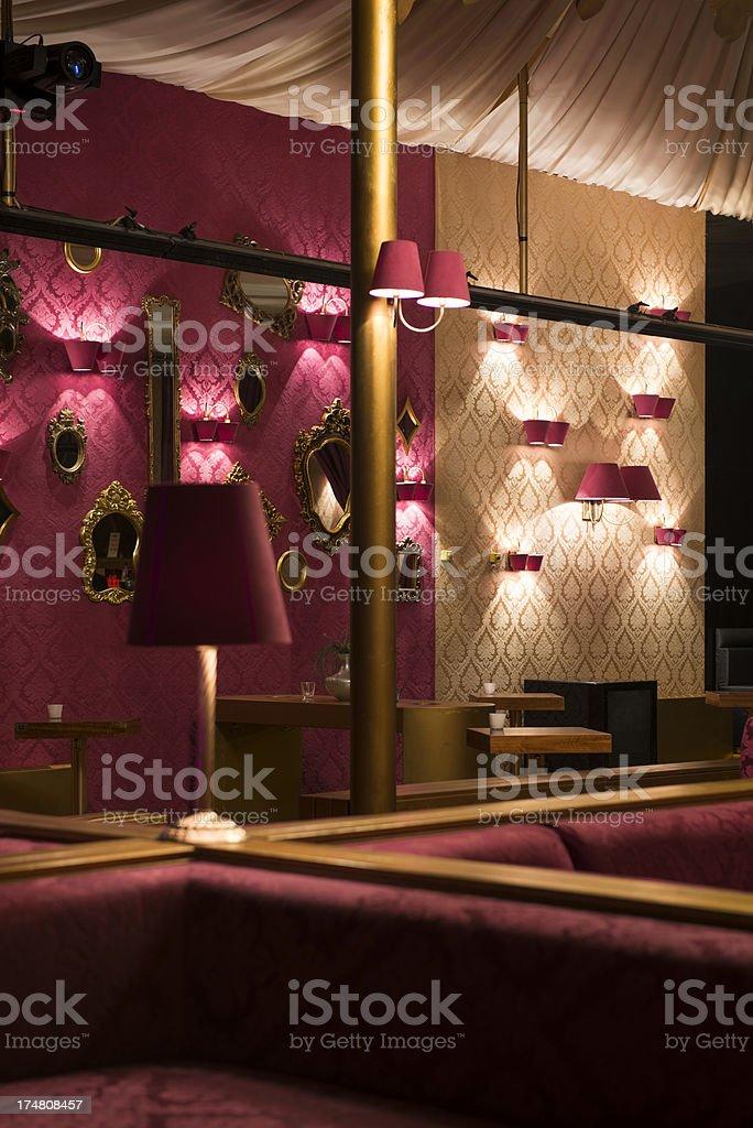 Modern Bar Lounge royalty-free stock photo
