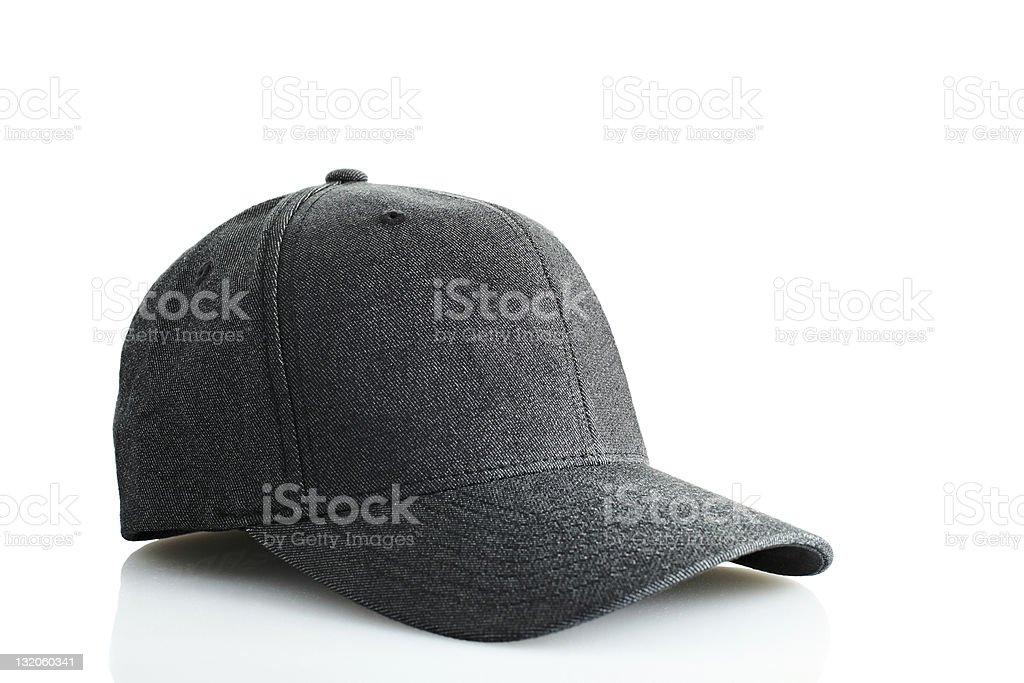 Modern Baseball Cap Isolated royalty-free stock photo