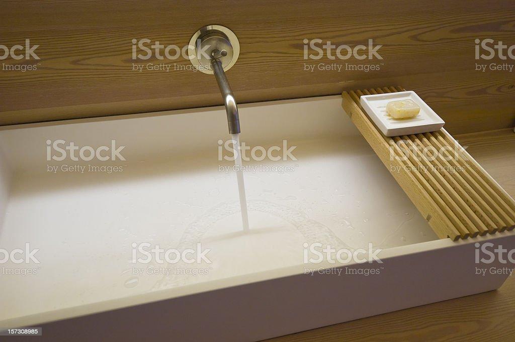 Modern Basin stock photo