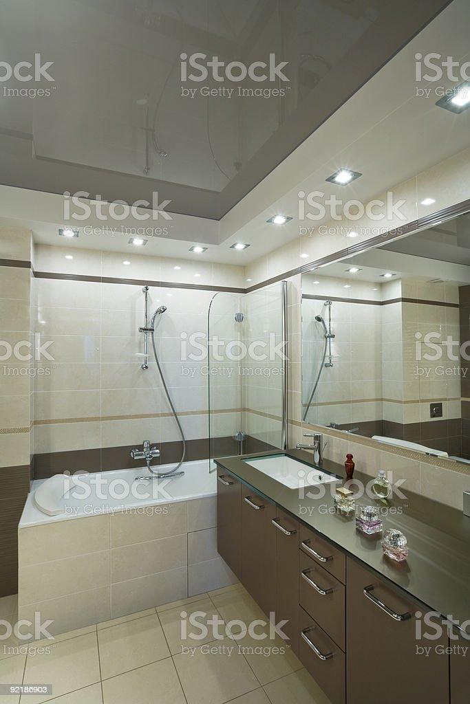 Modern Bath royalty-free stock photo