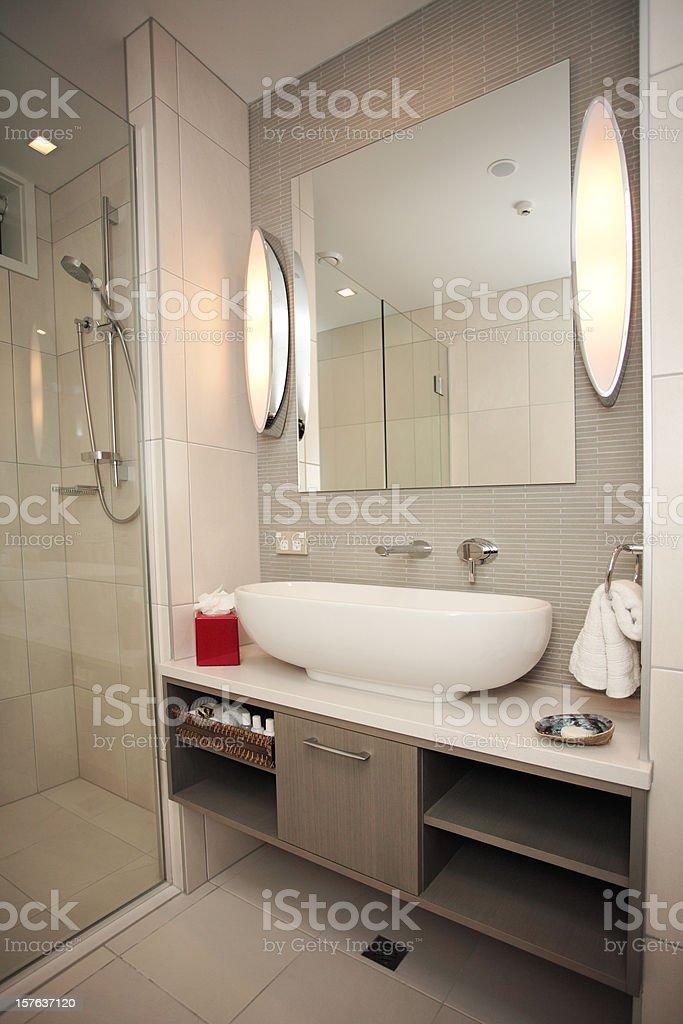 modern bathroom design royalty-free stock photo