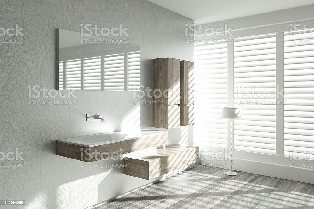 Modern Bathroom Design stock photo