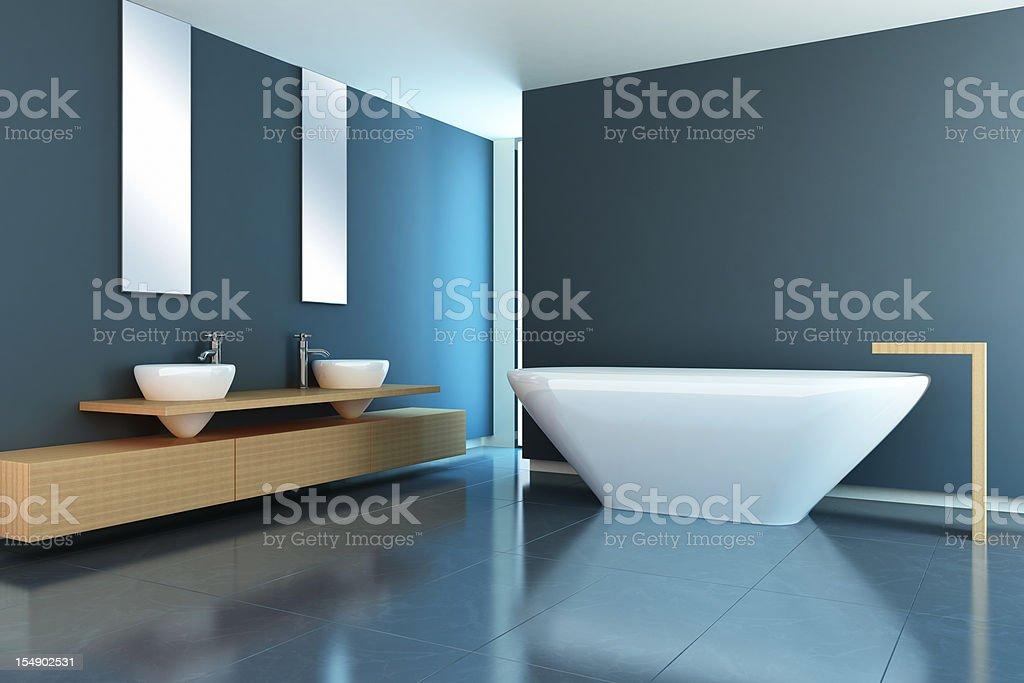 Modern Bathroom royalty-free stock photo