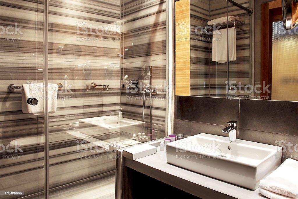 Modern Bathroom (Click for more) royalty-free stock photo