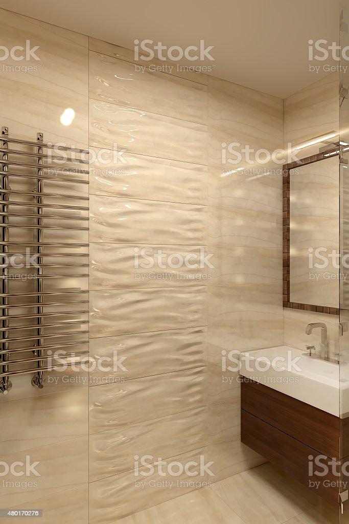 Salle de bains moderne photo libre de droits