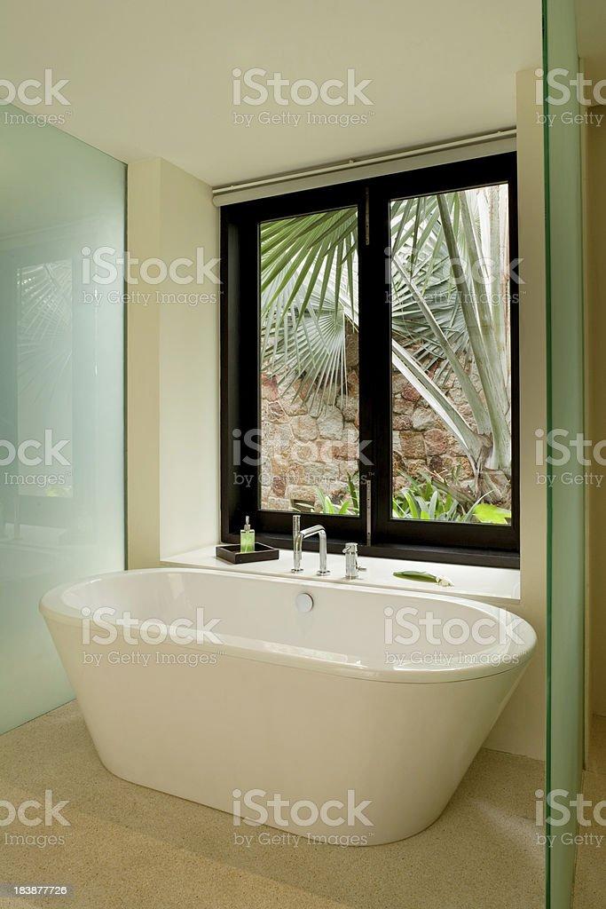 Modern Bathtub royalty-free stock photo