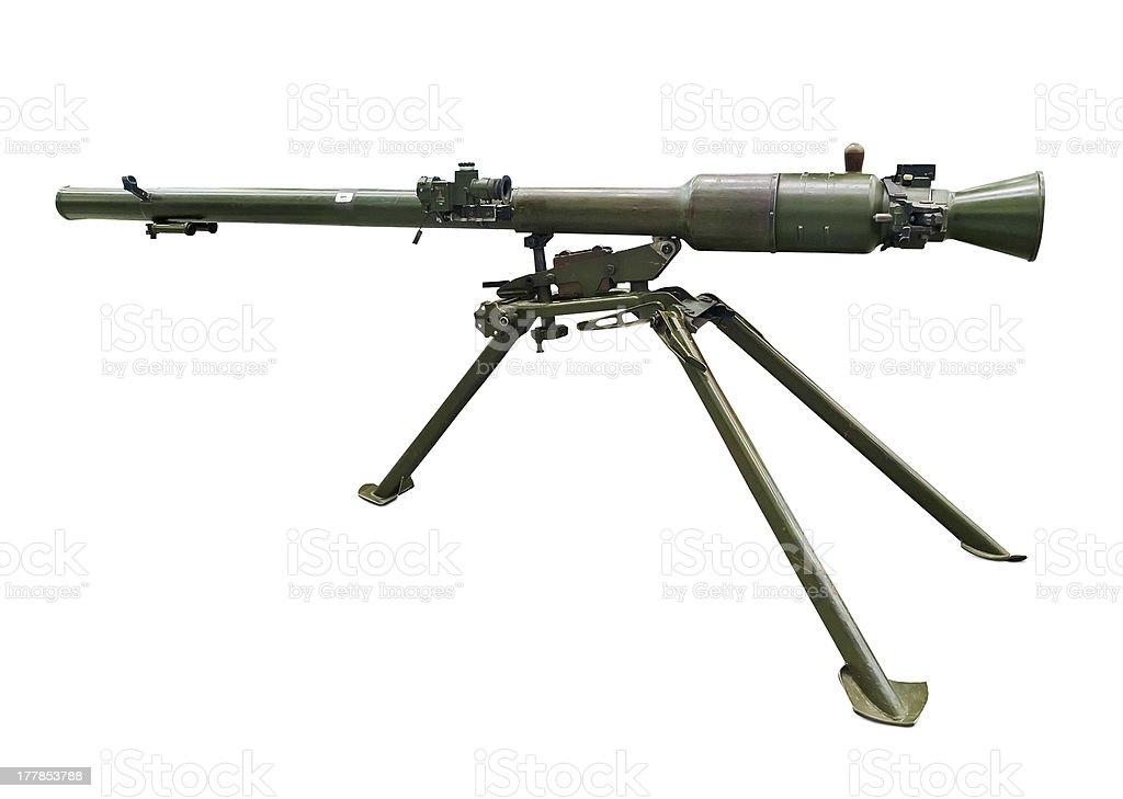 Modern bazooka royalty-free stock photo