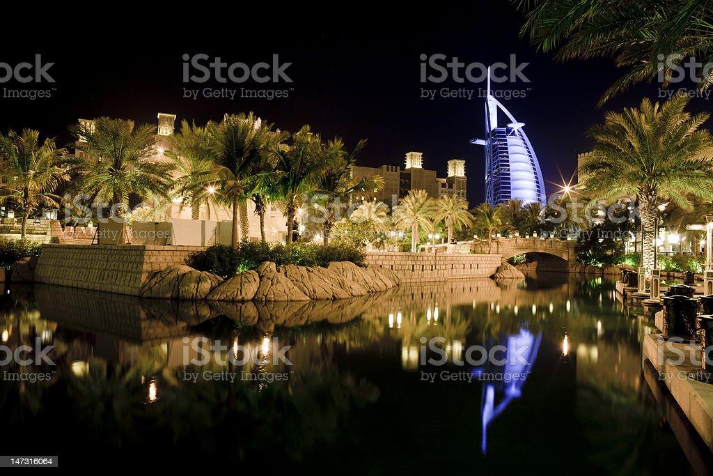 Modern Beach Resort stock photo