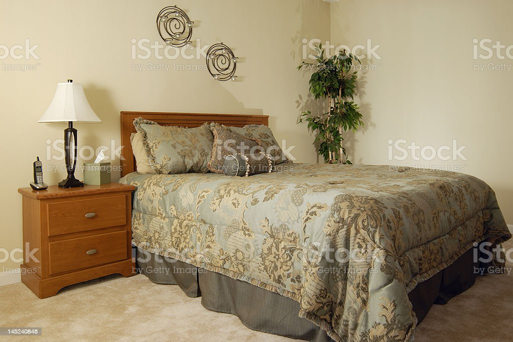 Modern Bedroom Furniture royalty-free stock photo