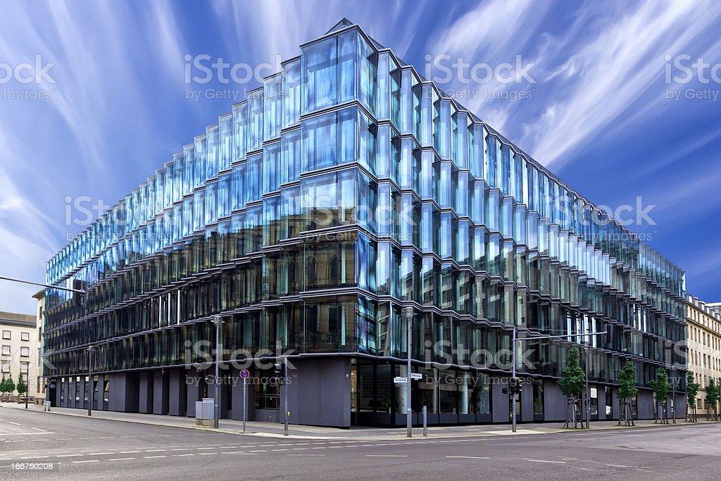 Modern Berlin royalty-free stock photo