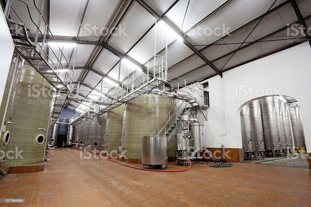 modern beverage factory royalty-free stock photo