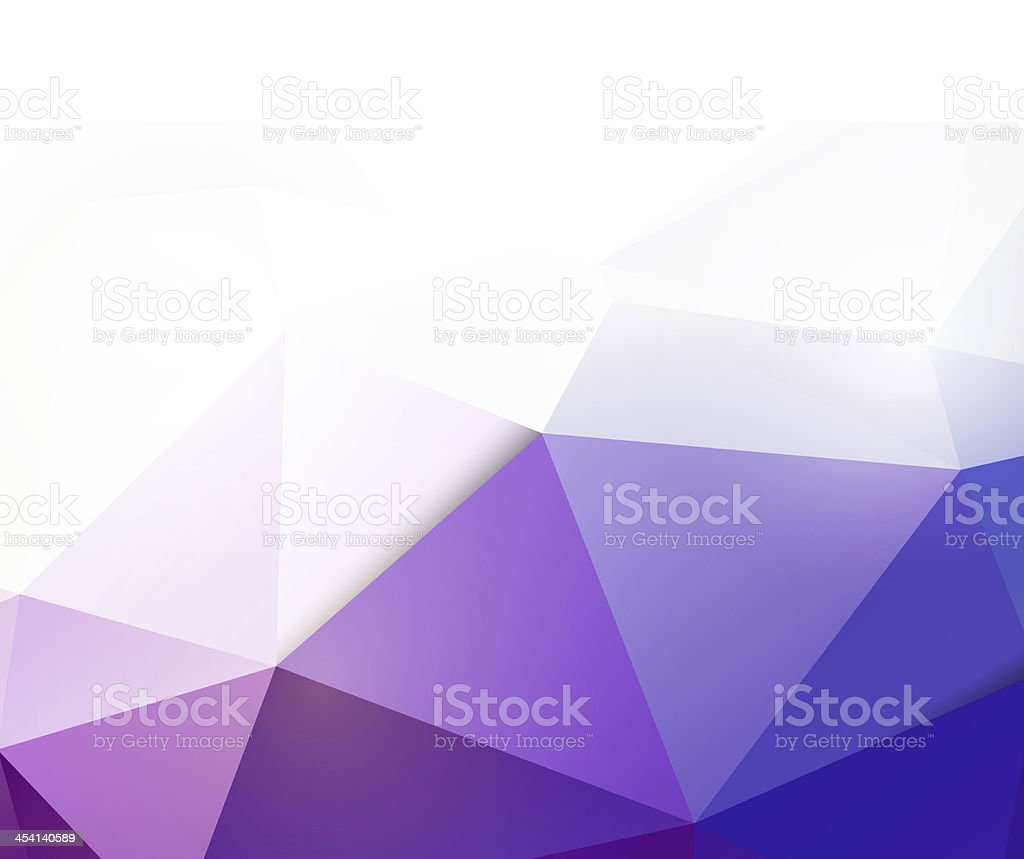 Modern blue polygon background and space for your text stock photo