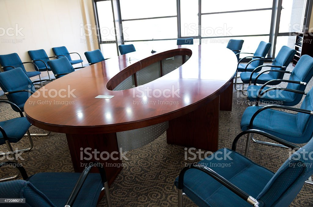 modern boardroom royalty-free stock photo