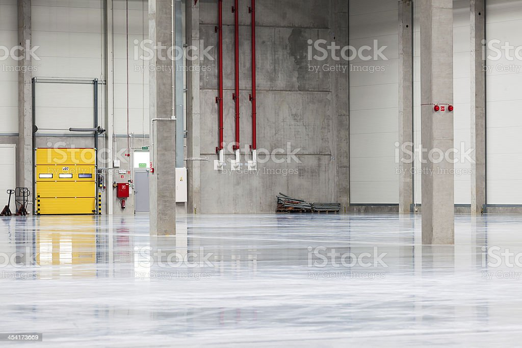 Modern, Brand New Storehouse royalty-free stock photo