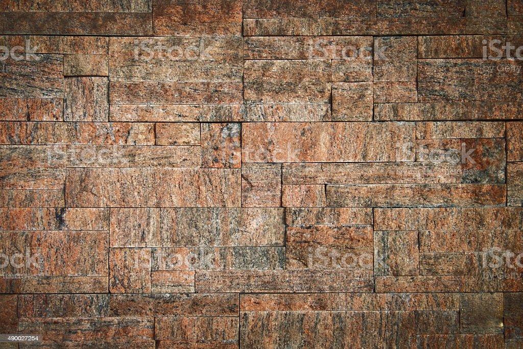 Modern brick wall stock photo