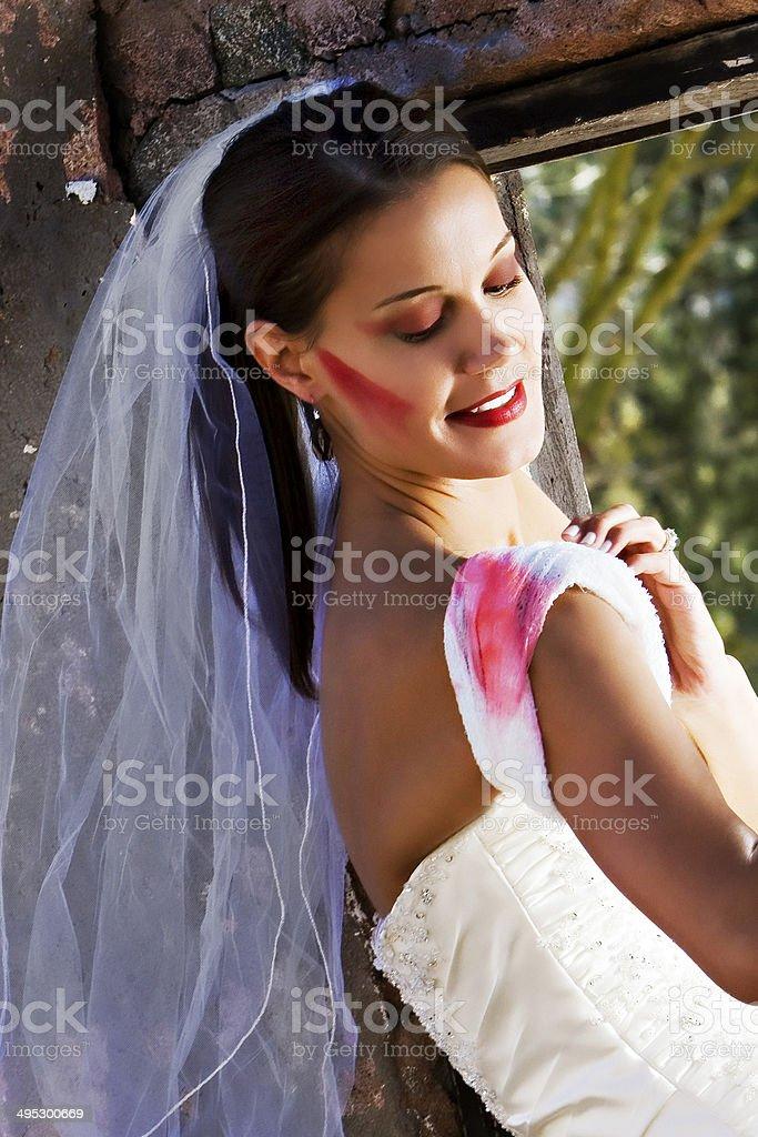 Modern Bride stock photo