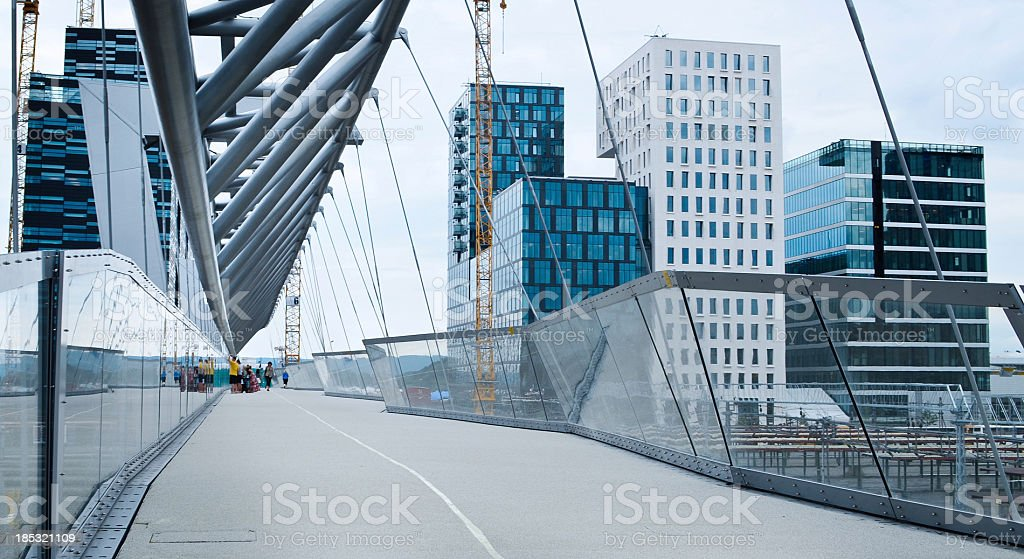 Modern Bridge stock photo
