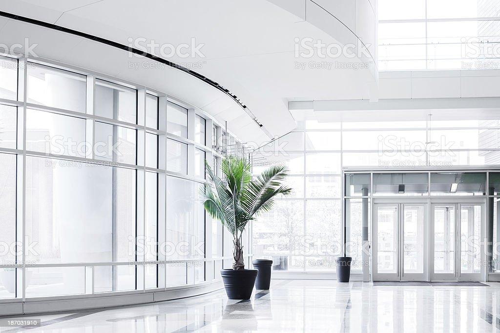 Modern Bright Office Entrance stock photo