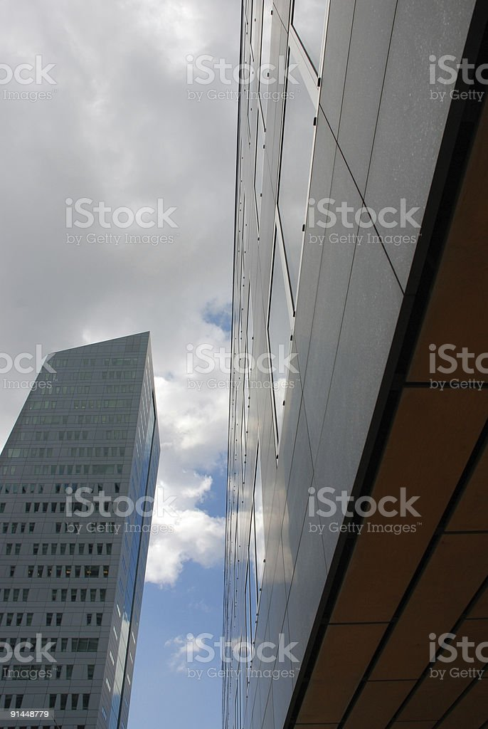 Modern buidings in Lille royalty-free stock photo