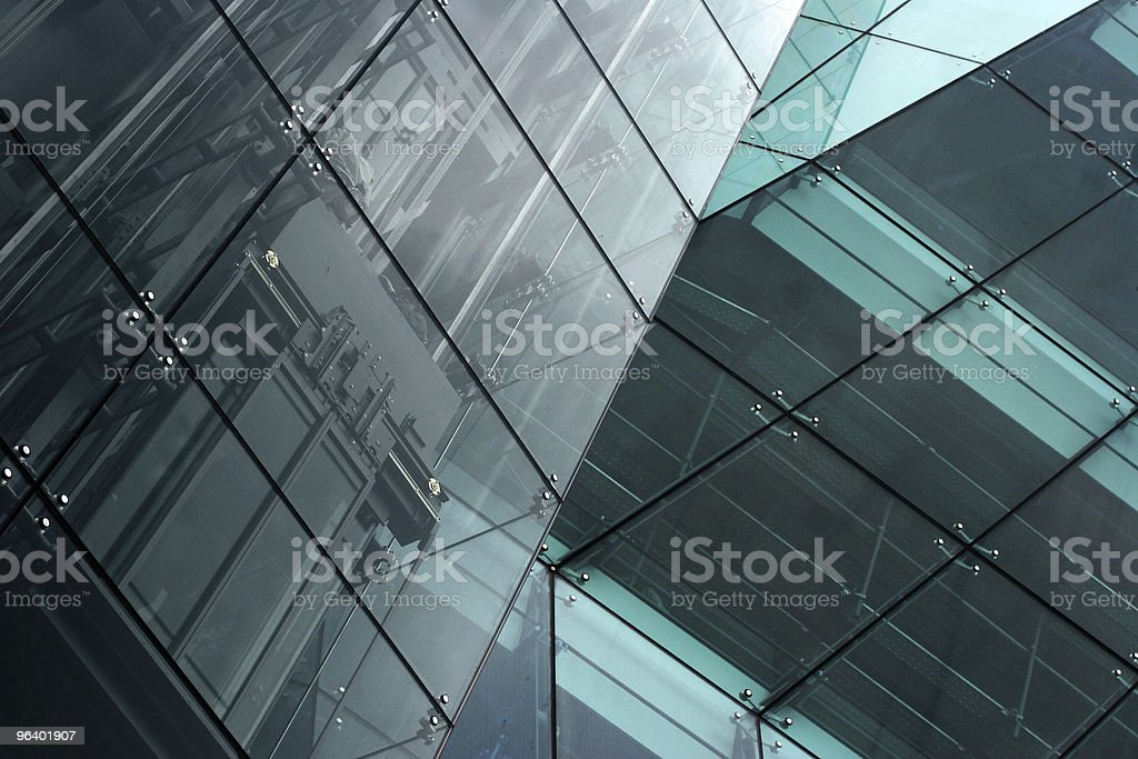 Modern building abstract background stock photo