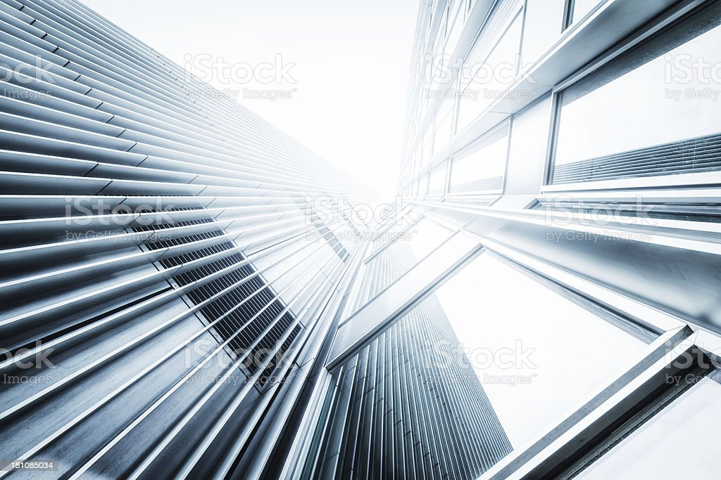 Modern building against sky royalty-free stock photo