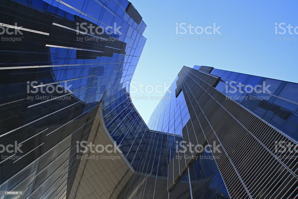 Modern building, Barcelona royalty-free stock photo