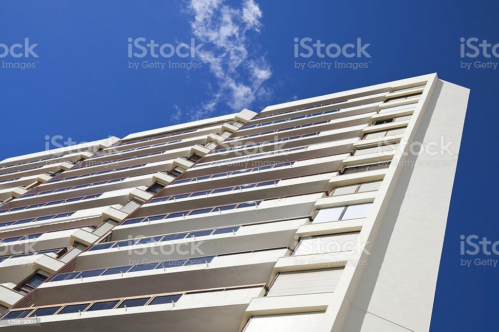 Modern building detail stock photo